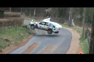 Rally Car Crash Compilation 2011